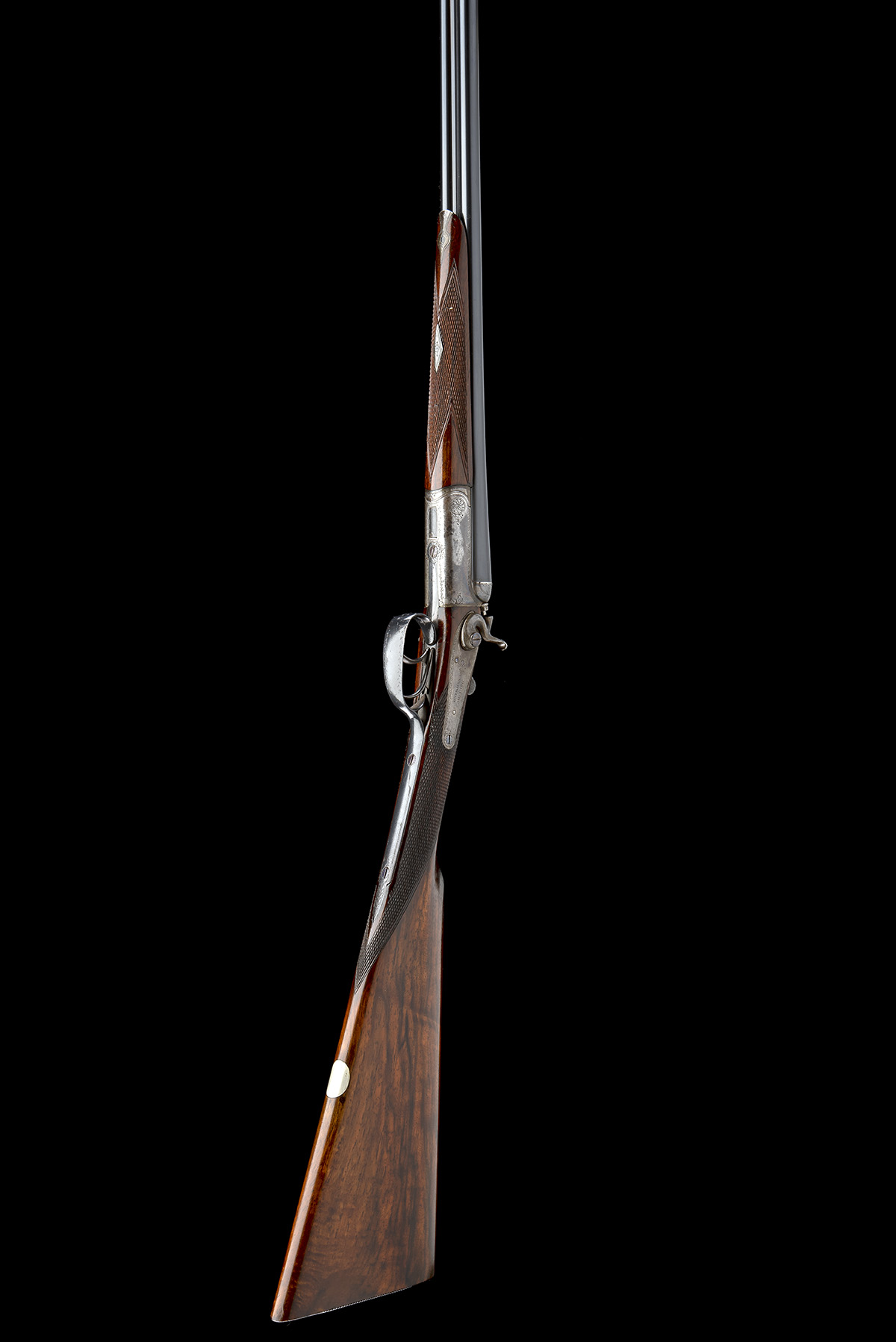 DARLOW (NORWICH) A .410 (2 1/2IN.) DOUBLE-BARRELLED TOPLEVER HAMMERGUN, serial no. H21351, for 1934, - Image 8 of 8