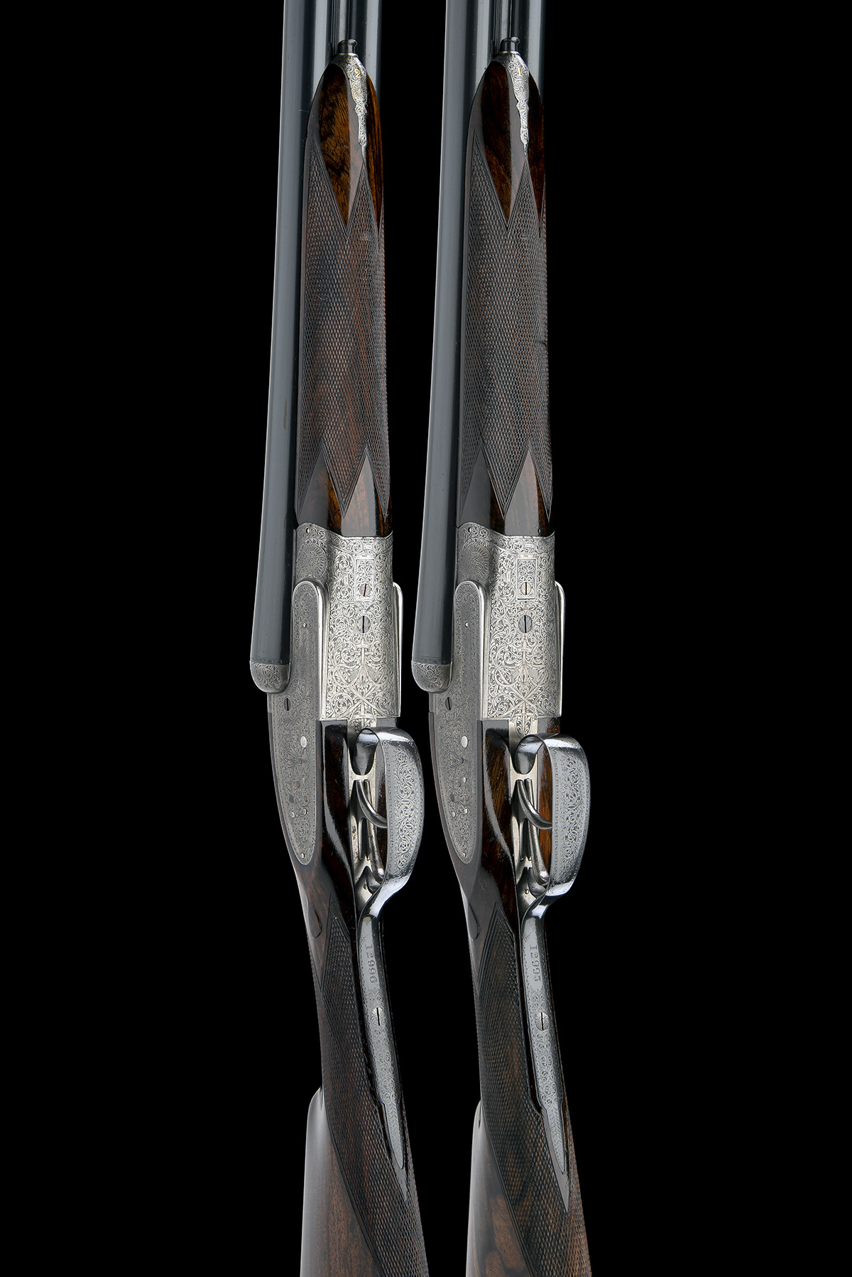 WILLIAM EVANS A PAIR OF 12-BORE SIDELOCK EJECTORS, serial no. 12995 / 6, for 1923, 30in. nitro - Image 3 of 12