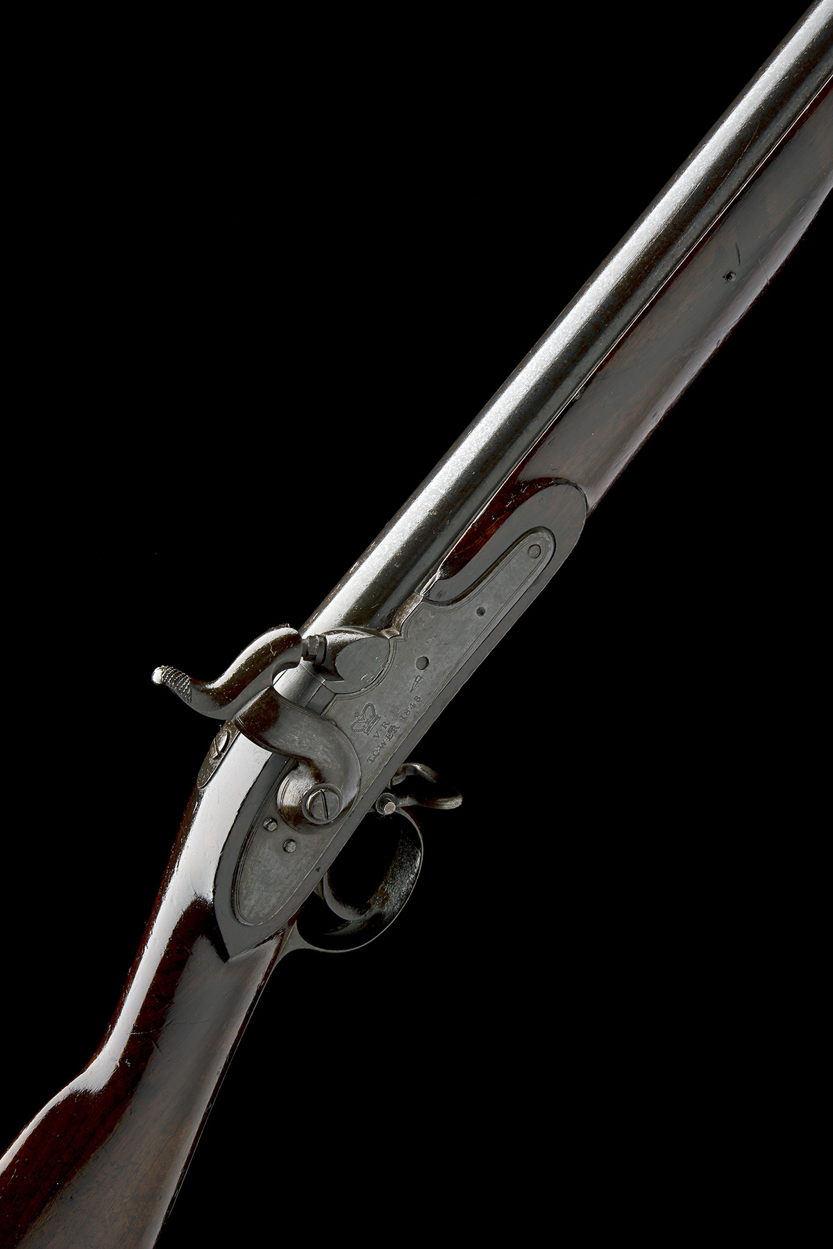 TOWER ARMOURIES, LONDON A .760 PERCUSSION MUSKET, MODEL 'PATTERN 1839', no visible serial number,