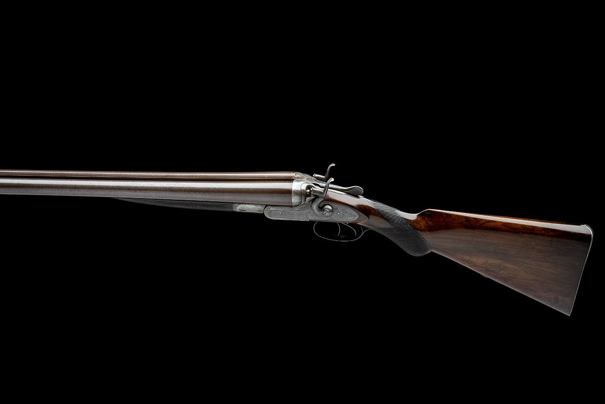 W. & C. SCOTT & SON AN 8-BORE 1865 PATENT DOUBLE-BARRELLED TOPLEVER HAMMERGUN, serial no. 29673, - Image 2 of 9