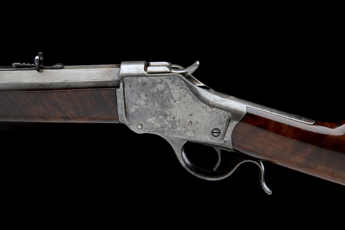 WINCHESTER REPEATING ARMS, USA A .40-90 (WINCHESTER SINGLE-SHOT) SPORTING-RIFLE, MODEL '1885 HIGH- - Image 4 of 6