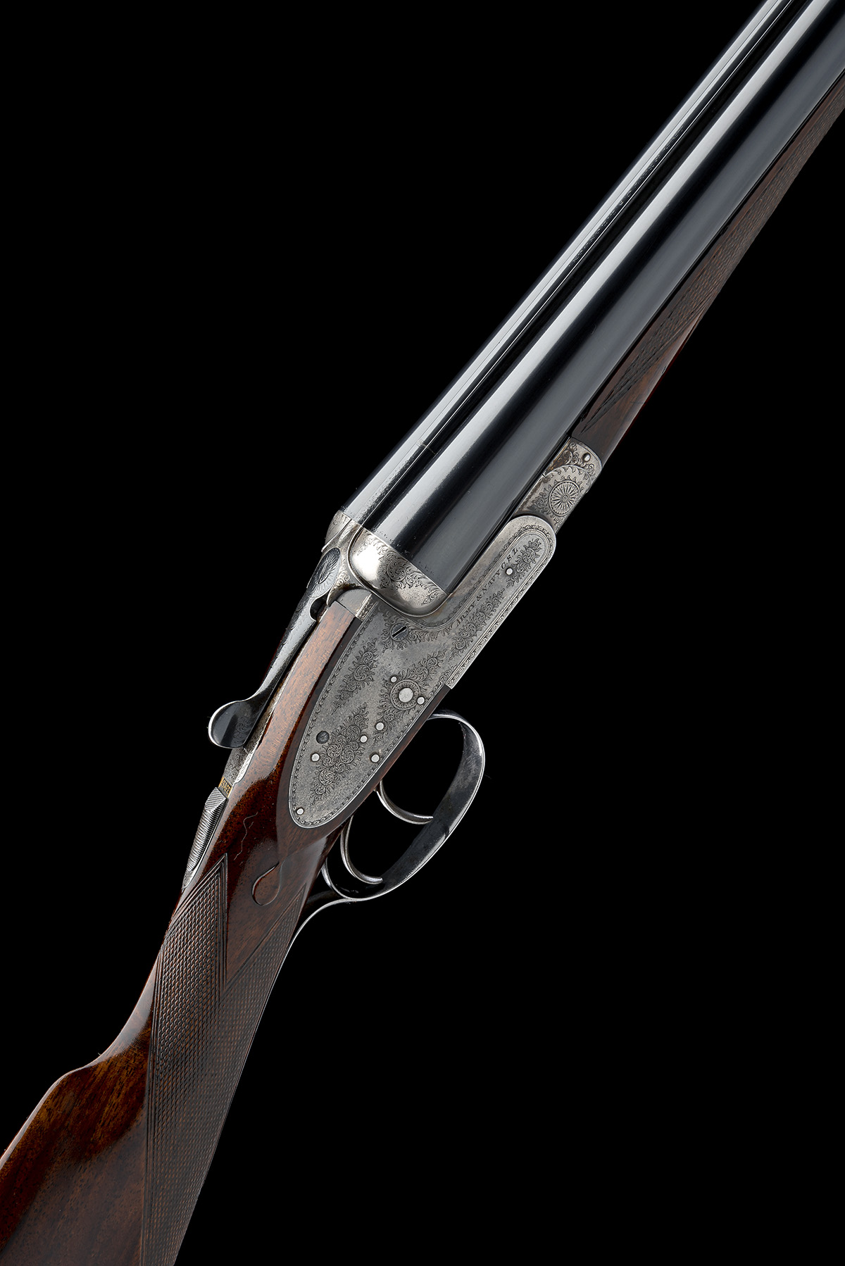 ARMY & NAVY C.S.L. A 12-BORE SIDELOCK EJECTOR, serial no. 57586, circa 1911, 28in. nitro reproved