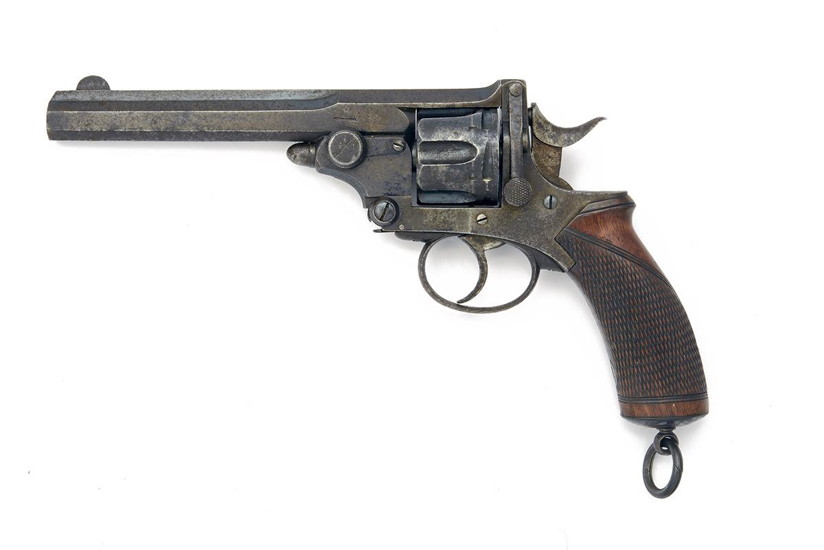 WEBLEY FOR I. HOLLIS, LONDON A .380 (C/F) SIX-SHOT BREAK-OPEN REVOLVER, MODEL 'WEBLEY'S No.4 PRYSE- - Image 2 of 2