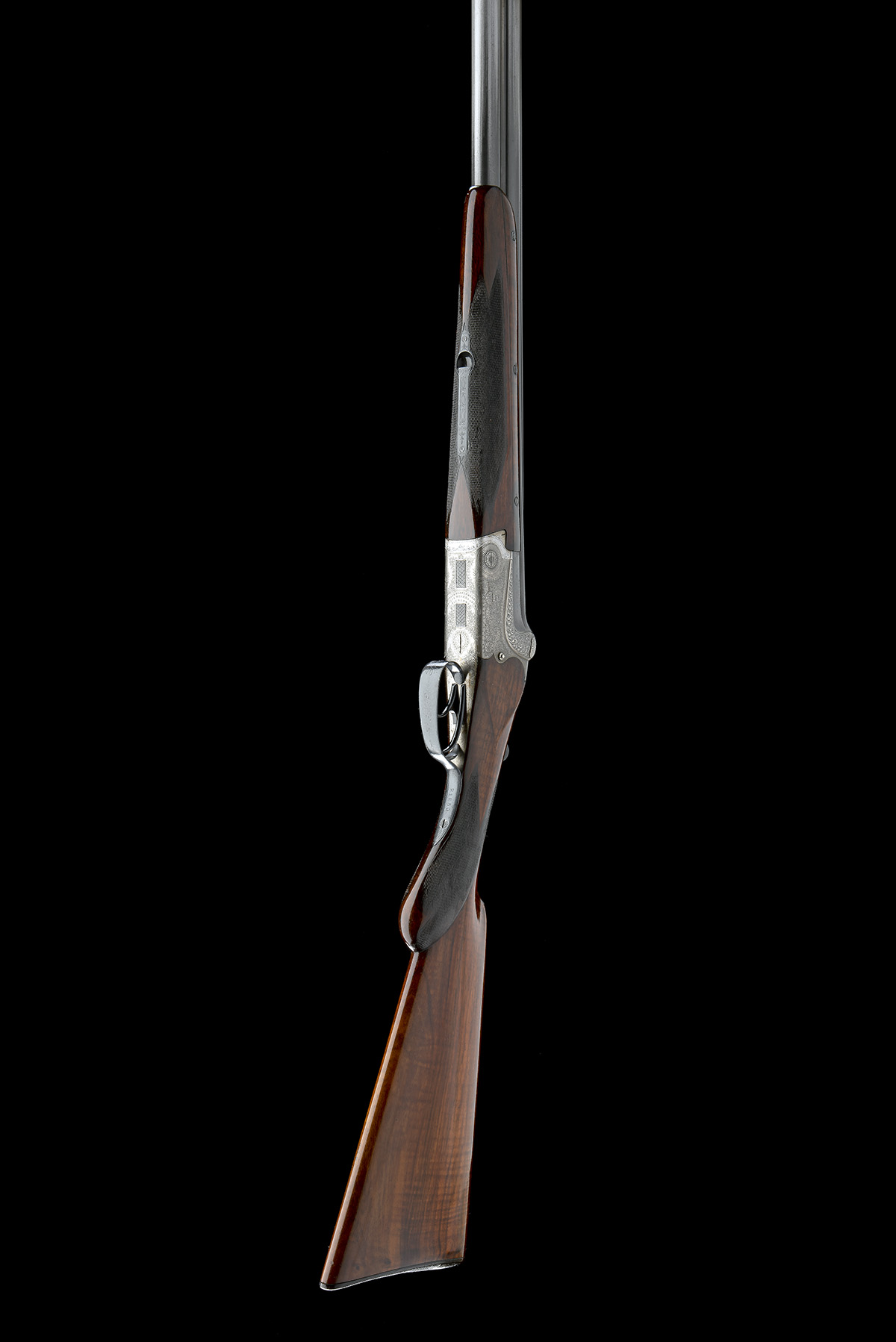 GEBRUDER MERKEL A 12-BORE DOUBLE-TRIGGER OVER AND UNDER EJECTOR, serial no. 21653, for August - Image 8 of 8