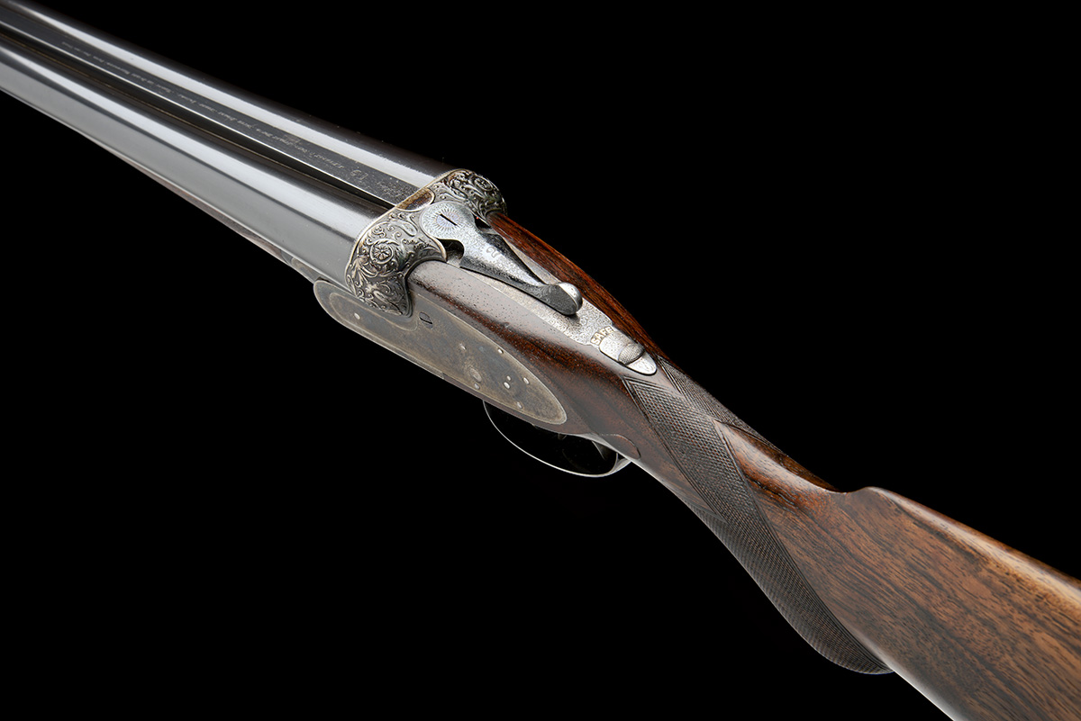 J. PURDEY & SONS A FINE 12-BORE (3IN.) SELF-OPENING SIDELOCK EJECTOR WILDFOWLING GUN, serial no. - Image 5 of 11