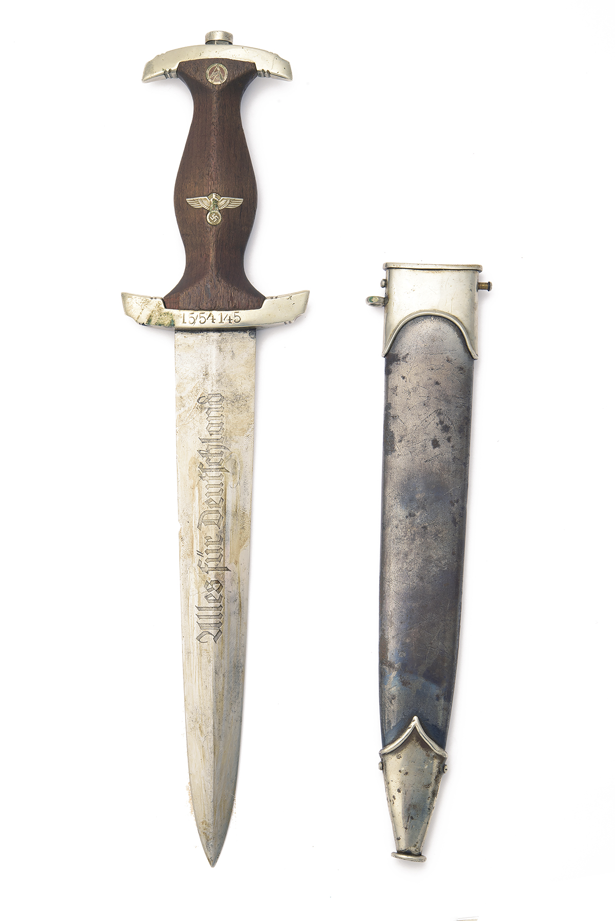 E. PACK & SOHN, SOLINGEN A PRE-WAR 'HOLBEIN' DRESS DAGGER FOR THE S.A. ORGANISATION, early 1933/34