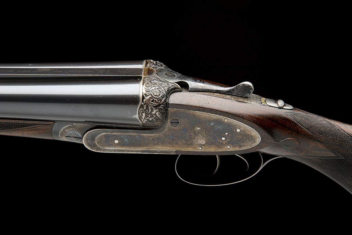 J. PURDEY & SONS A FINE 12-BORE (3IN.) SELF-OPENING SIDELOCK EJECTOR WILDFOWLING GUN, serial no. - Image 4 of 11
