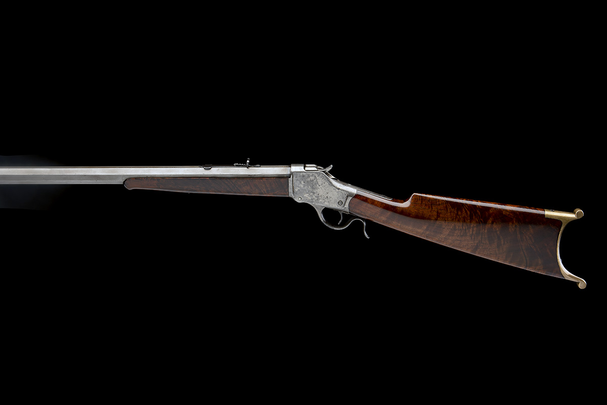 WINCHESTER REPEATING ARMS, USA A .40-90 (WINCHESTER SINGLE-SHOT) SPORTING-RIFLE, MODEL '1885 HIGH- - Image 2 of 6