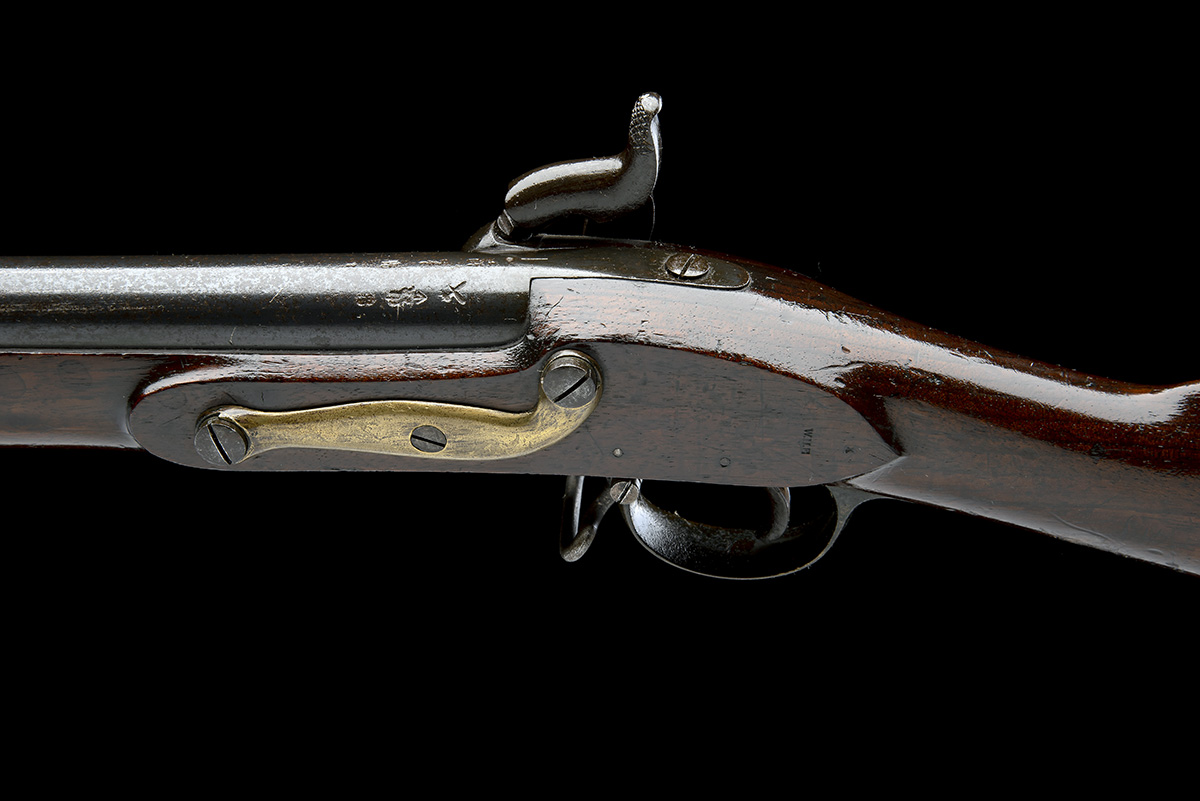 TOWER ARMOURIES, LONDON A .760 PERCUSSION MUSKET, MODEL 'PATTERN 1839', no visible serial number, - Image 4 of 7