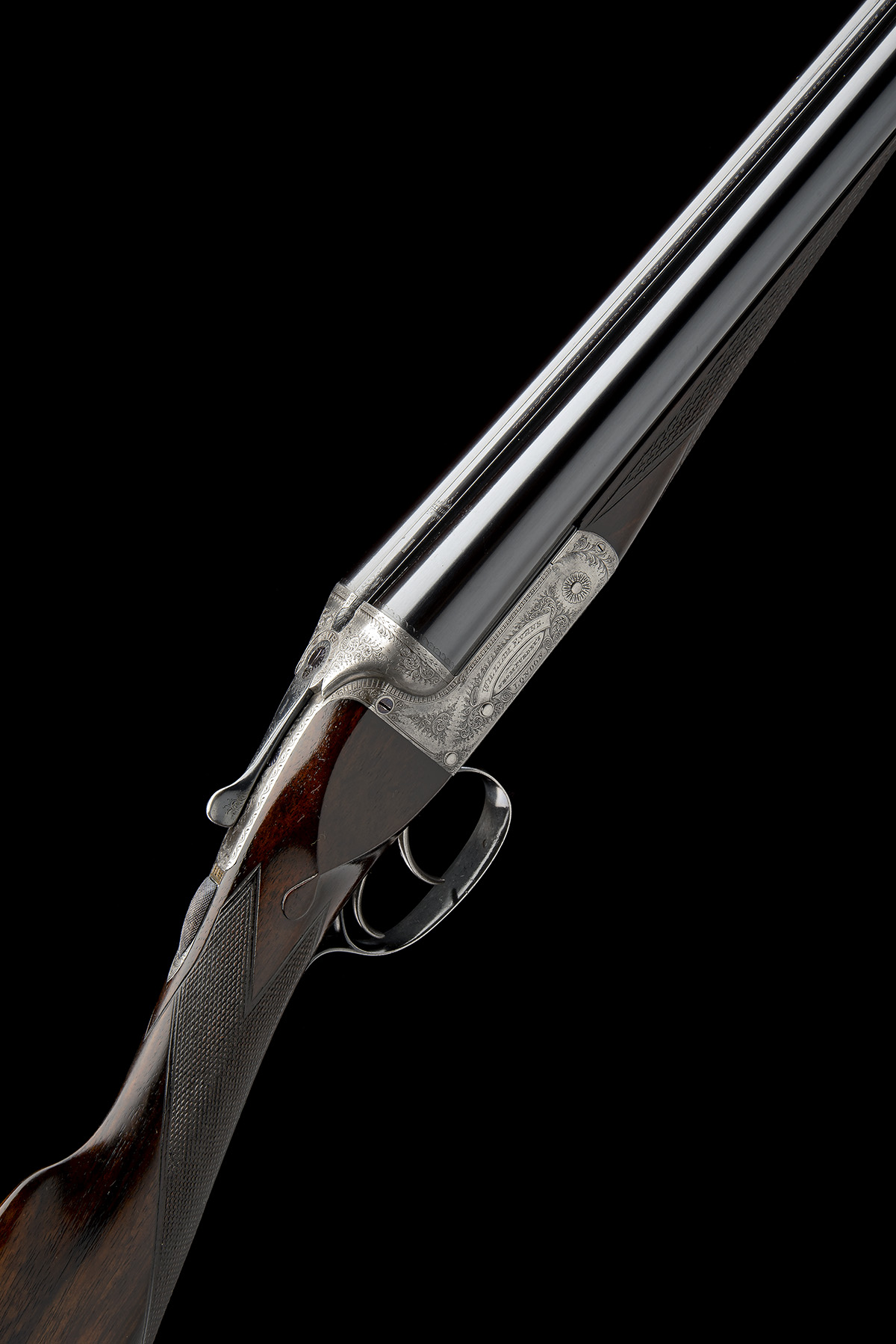 WILLIAM EVANS (FROM PURDEY'S) A 12-BORE BOXLOCK EJECTOR, serial no. 3733, for 1897, 30in.