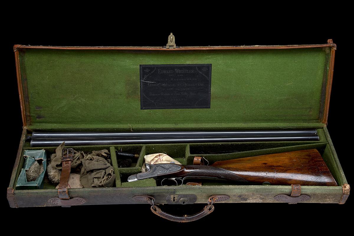WEBLEY & SCOTT A 12-BORE SINGLE-TRIGGER SIDELOCK EJECTOR, serial no. 69014, circa 1905, 30in, - Image 9 of 9