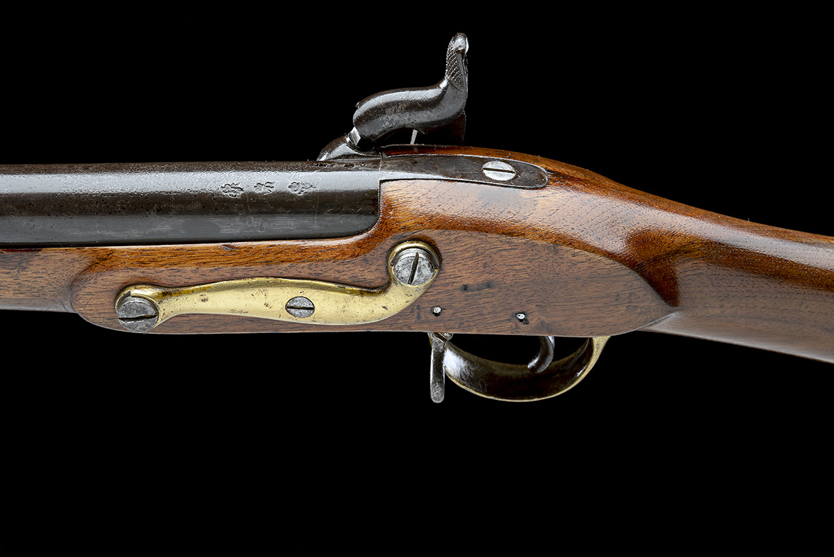 ENFIELD, ENGLAND A .730 PERCUSSION SERVICE-CARBINE, MODEL '1840 SERGEANTS OF THE LINE', no visible - Image 7 of 8