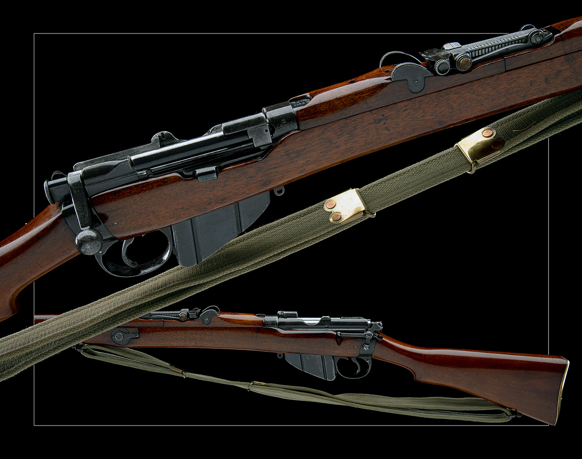 B.S.A. CO. SPARKBROOK A RARE .303 BOLT-ACTION REPEATING SERVICE-RIFLE, MODEL 'SHT L.E. MK 1*', - Image 11 of 11