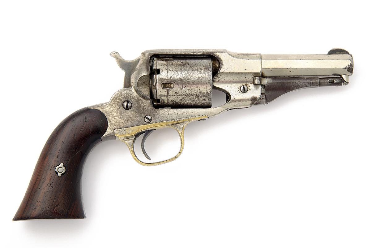 E. REMINGTON & SONS, USA A .380 (RIMFIRE) FIVE-SHOT REVOLVER, MODEL 'FACTORY CONVERSION OF THE NEW