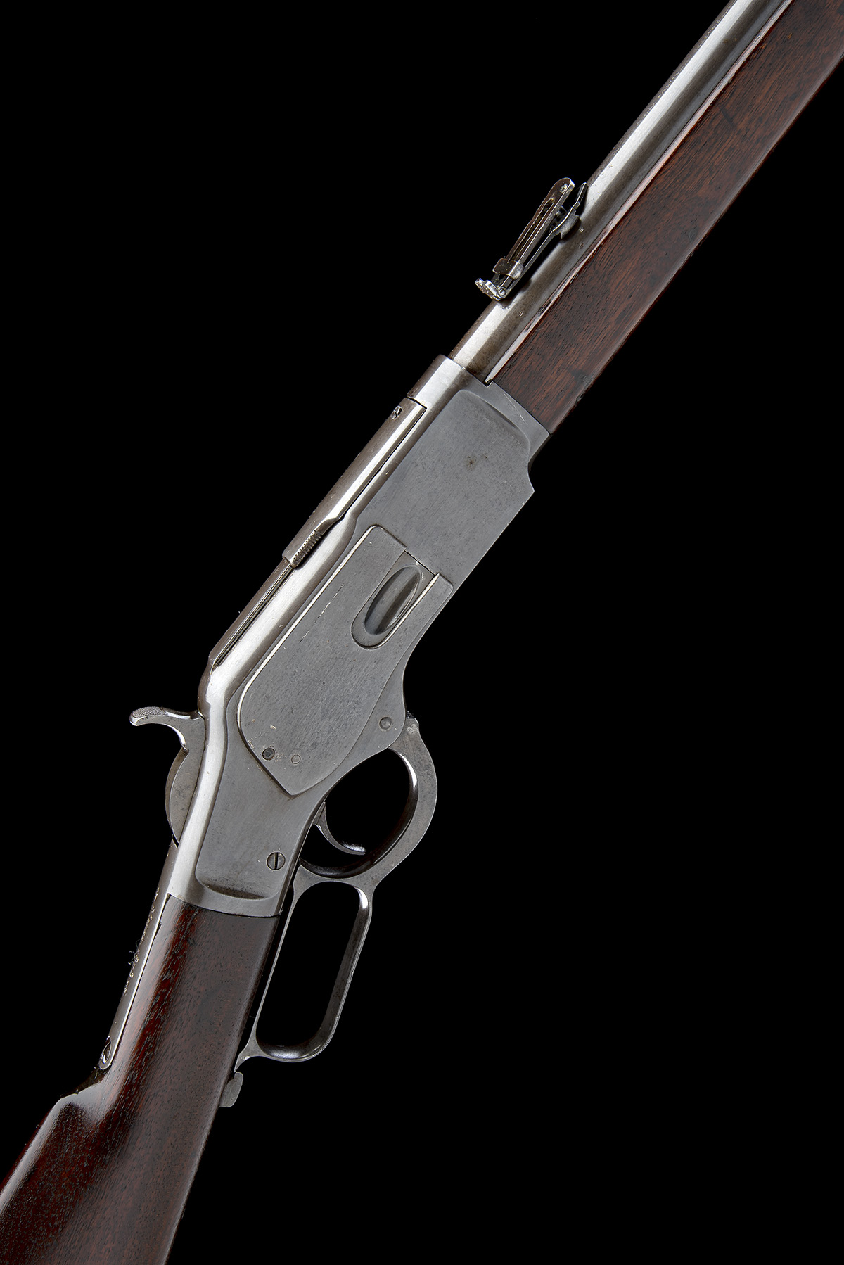 WINCHESTER REPEATING ARMS, USA A .44 W.C.F. 'MODEL 1873' LEVER-ACTION REPEATING SPORTING RIFLE,