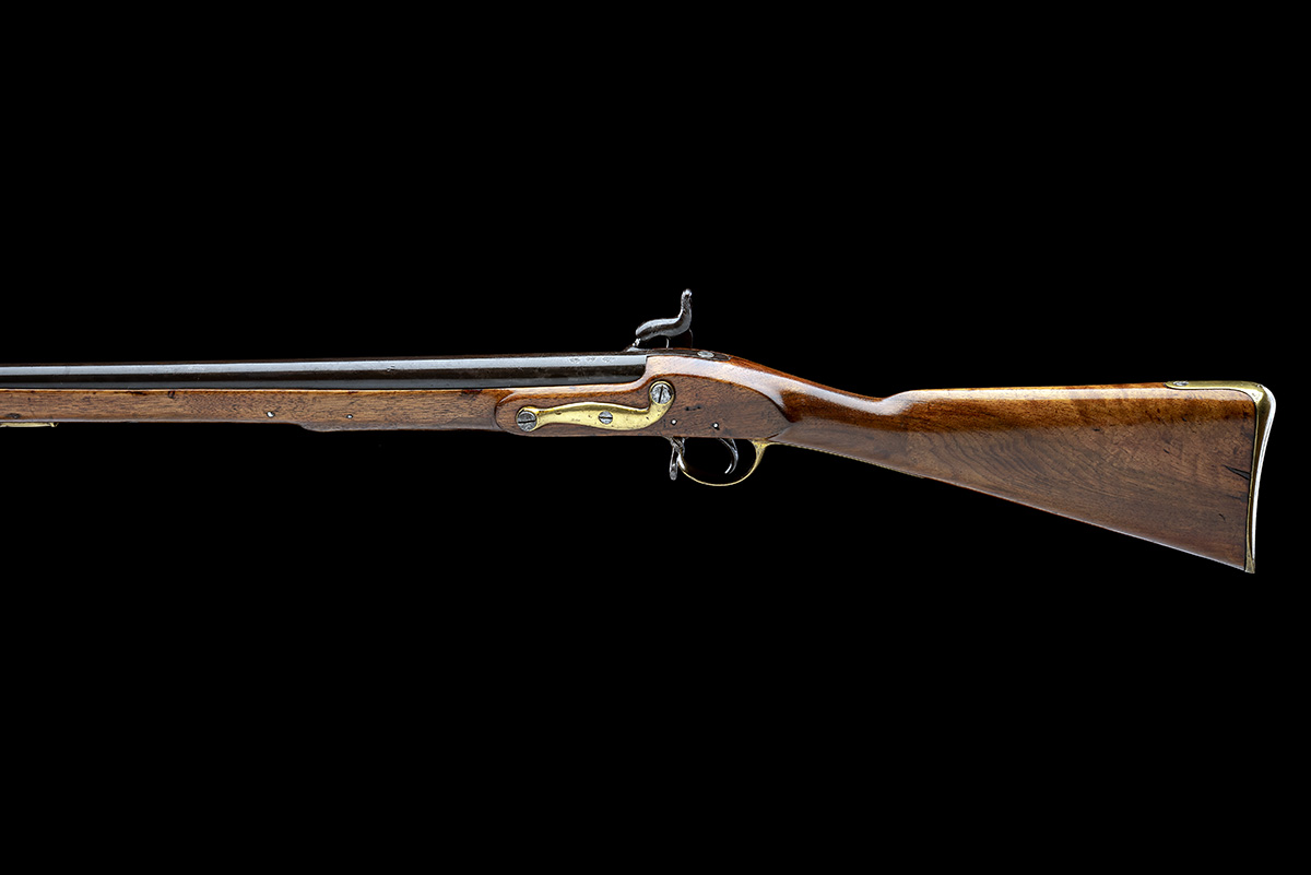 ENFIELD, ENGLAND A .730 PERCUSSION SERVICE-CARBINE, MODEL '1840 SERGEANTS OF THE LINE', no visible - Image 2 of 8