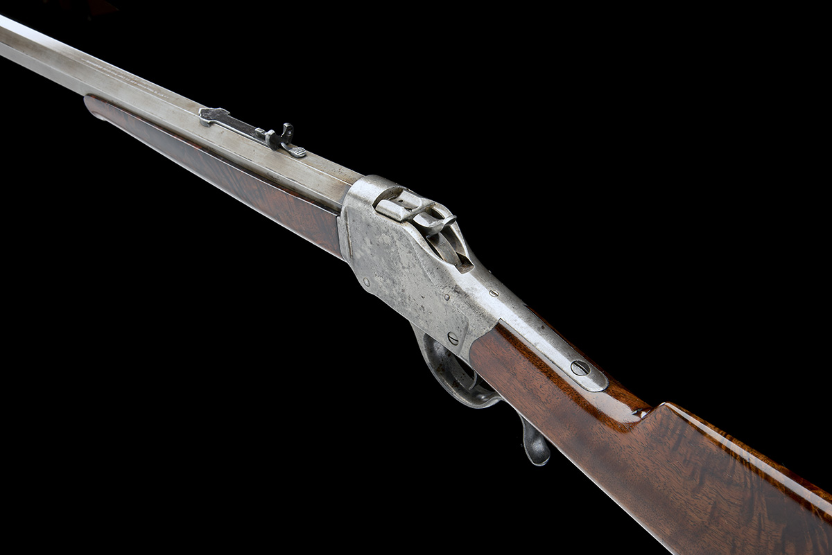 WINCHESTER REPEATING ARMS, USA A .40-90 (WINCHESTER SINGLE-SHOT) SPORTING-RIFLE, MODEL '1885 HIGH- - Image 5 of 6