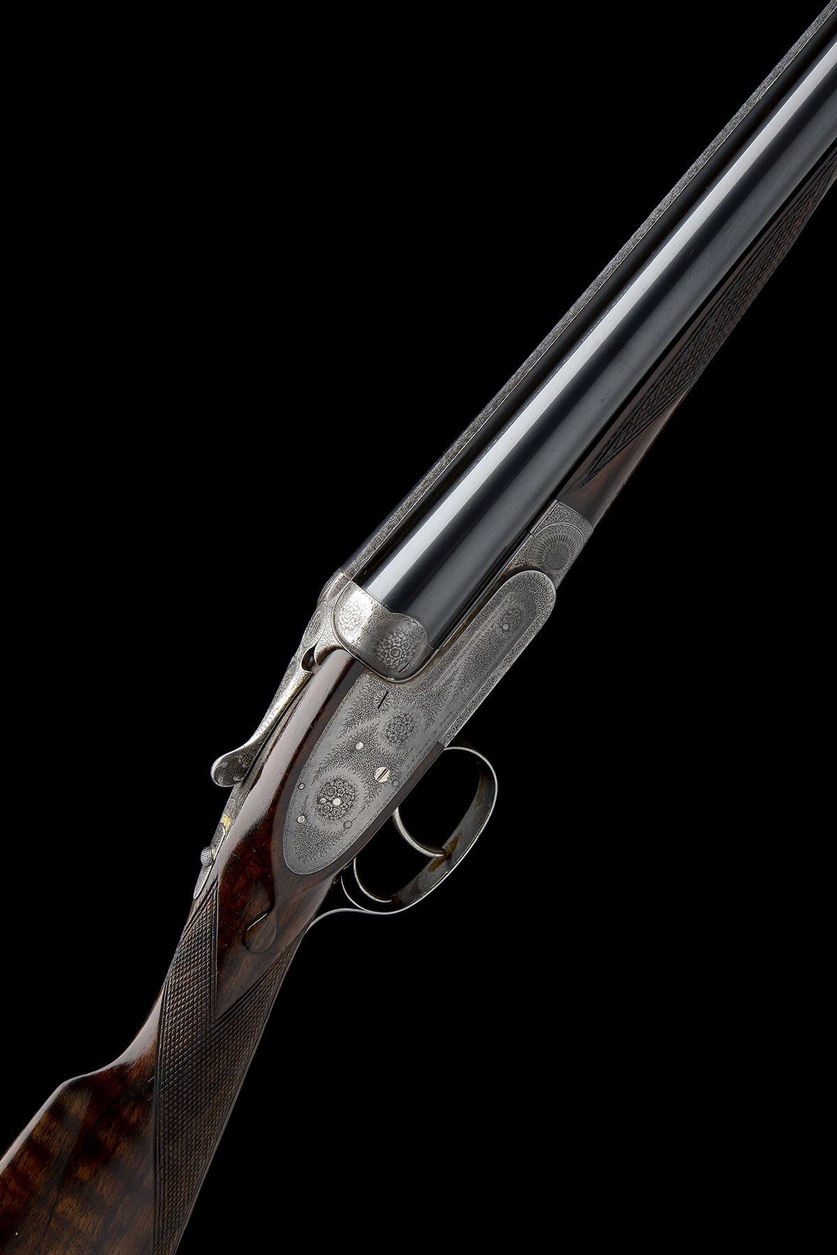 J. PURDEY & SONS A 12-BORE SELF-OPENING SIDELOCK EJECTOR LIVE PIGEON GUN, serial no. 21119, with