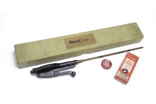 HAMMERLI, SWITZERLAND A RARE BOXED 4.4mm (BB) SIDE-LEVER AIR-POWERED TRAINING UNIT FOR A K31