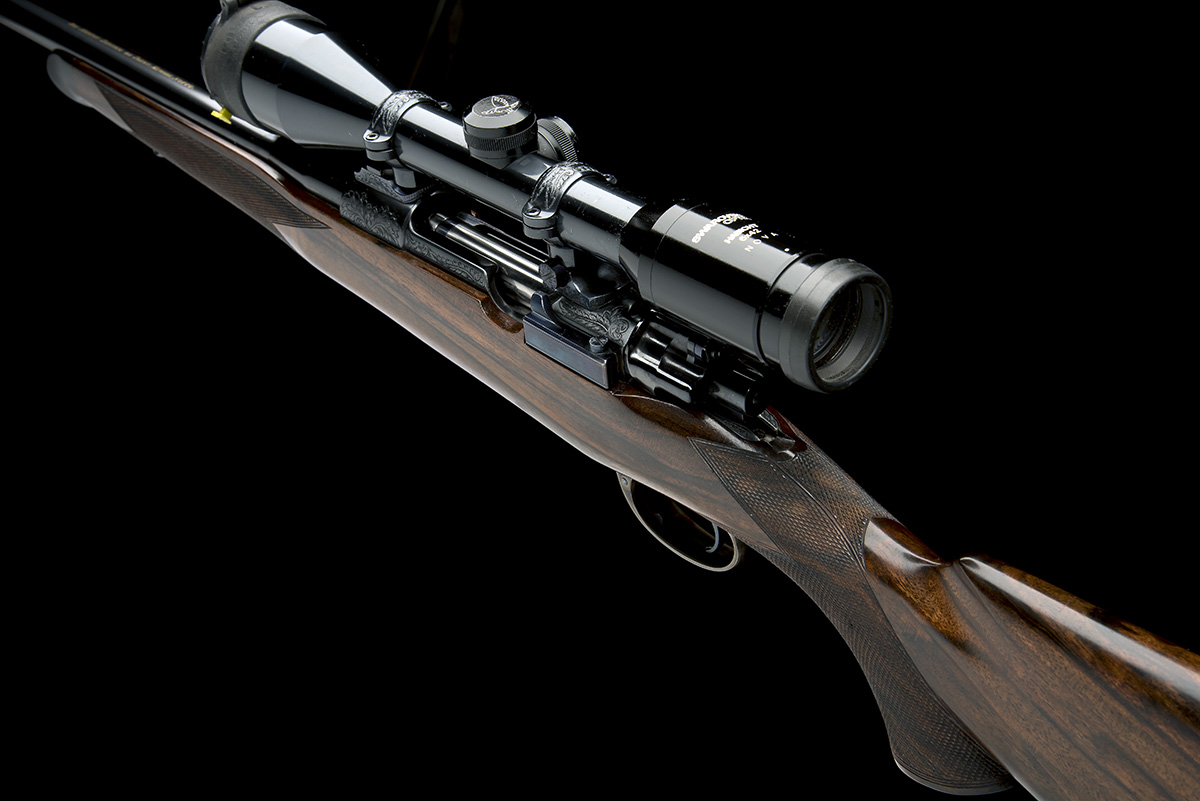 ROY MARTIN A .243 WIN. BOLT-MAGAZINE SPORTING RIFLE, serial no. H0680, circa 1986, 21in. unsighted - Image 5 of 9