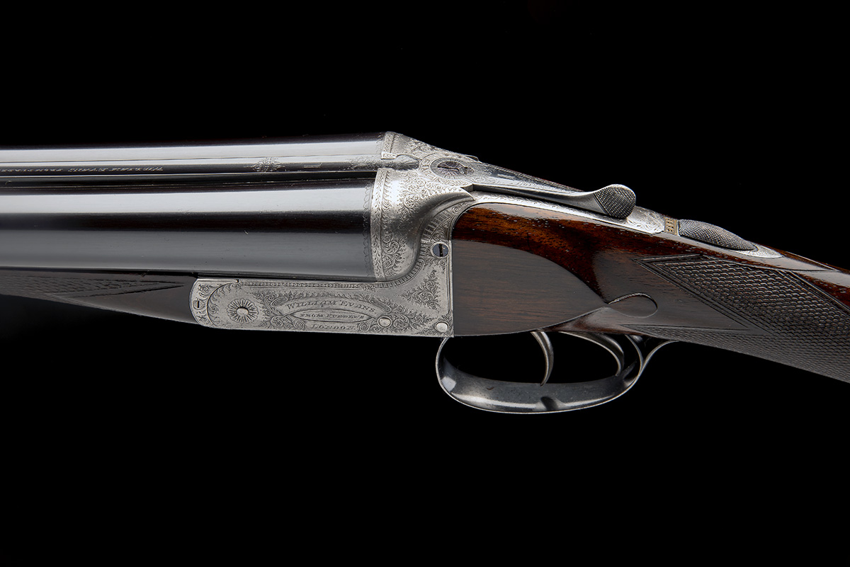 WILLIAM EVANS (FROM PURDEY'S) A 12-BORE BOXLOCK EJECTOR, serial no. 3733, for 1897, 30in. - Image 4 of 9