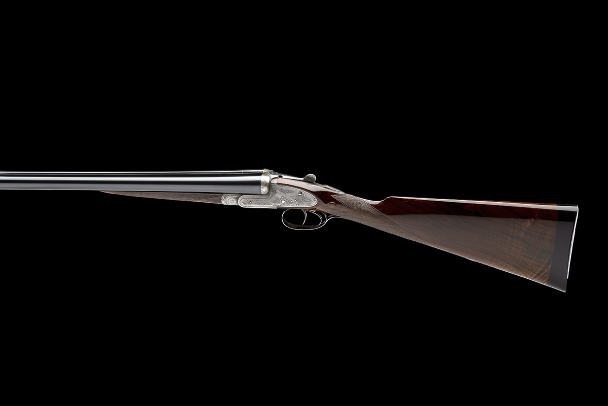 ARMY & NAVY C.S.L. A 12-BORE SIDELOCK EJECTOR, serial no. 57586, circa 1911, 28in. nitro reproved - Image 2 of 8