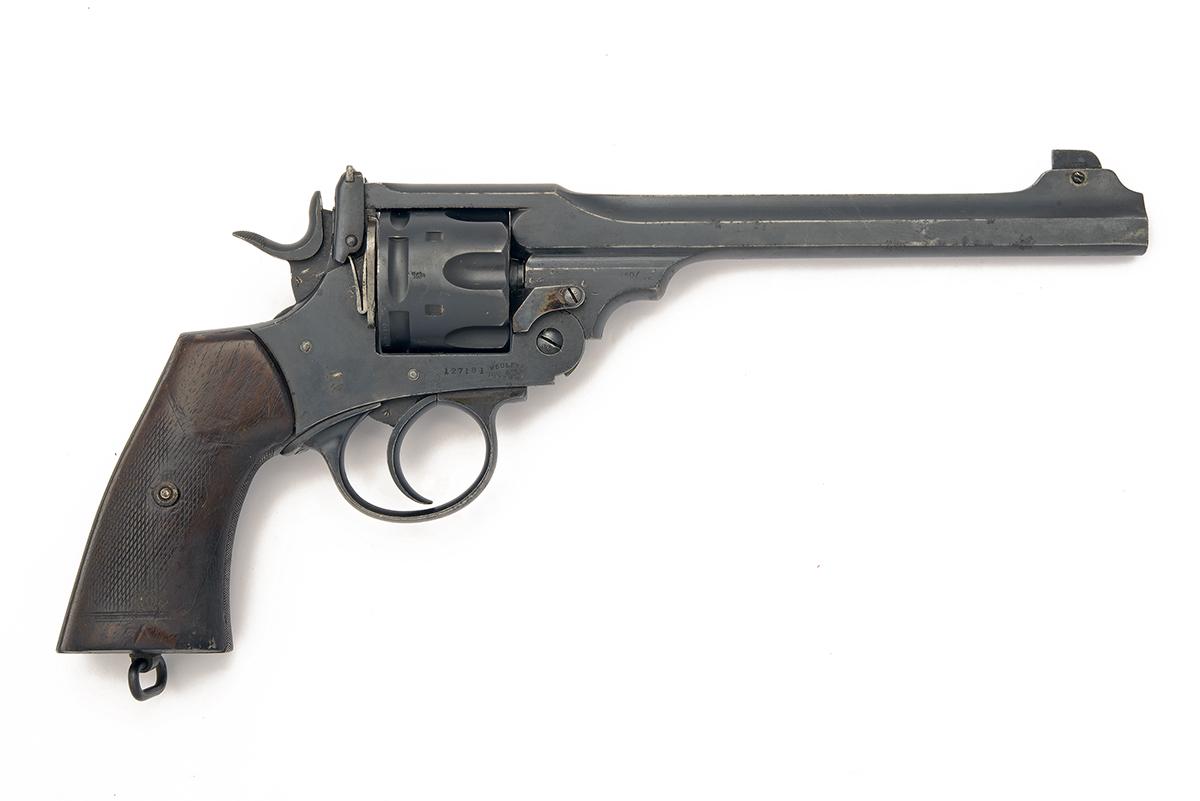 WILKINSON-WEBLEY, LONDON A .455 SEMI-AUTOMATIC SIX-SHOT REVOLVER, MODEL '1911 WILKINSON-WEBLEY - Image 2 of 4