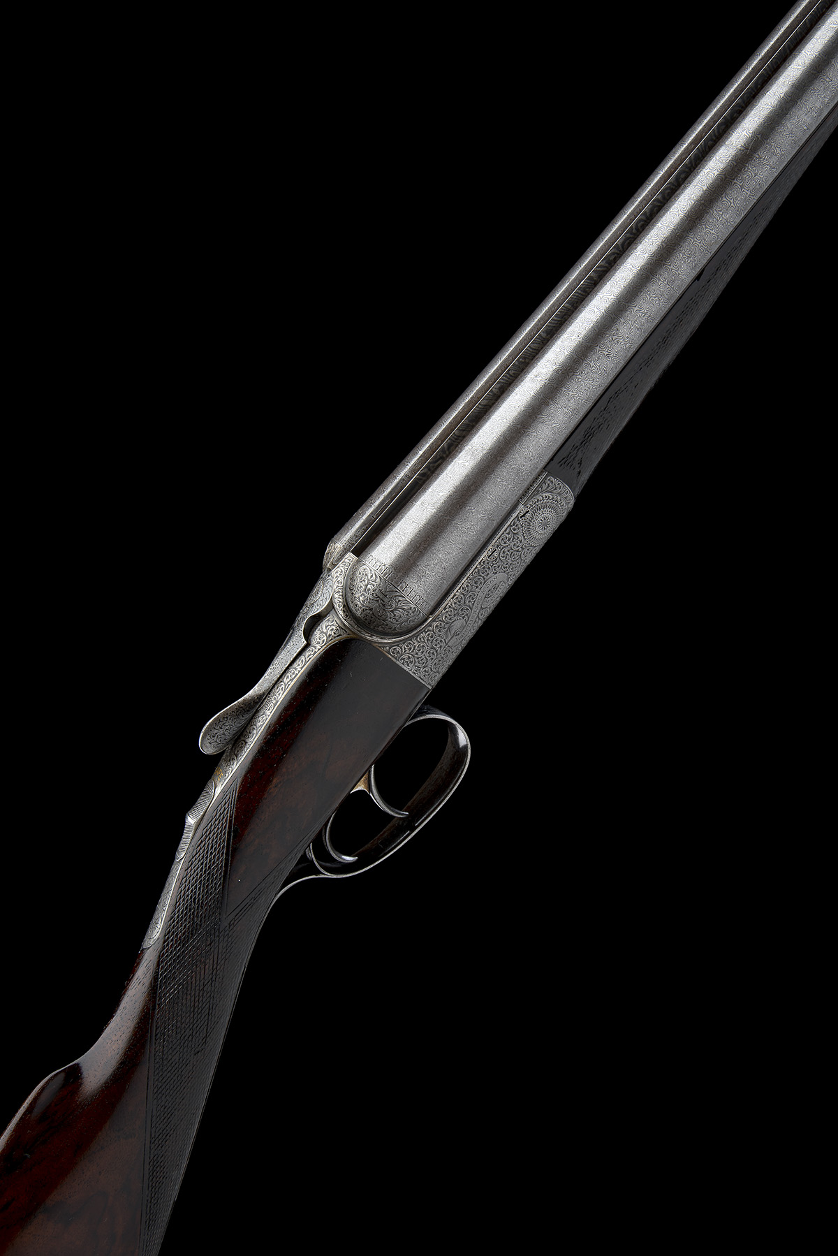 JOHN DICKSON & SON A 12-BORE 1887 PATENT 'ROUND-ACTION' TRIGGERPLATE-ACTION EJECTOR, serial no.