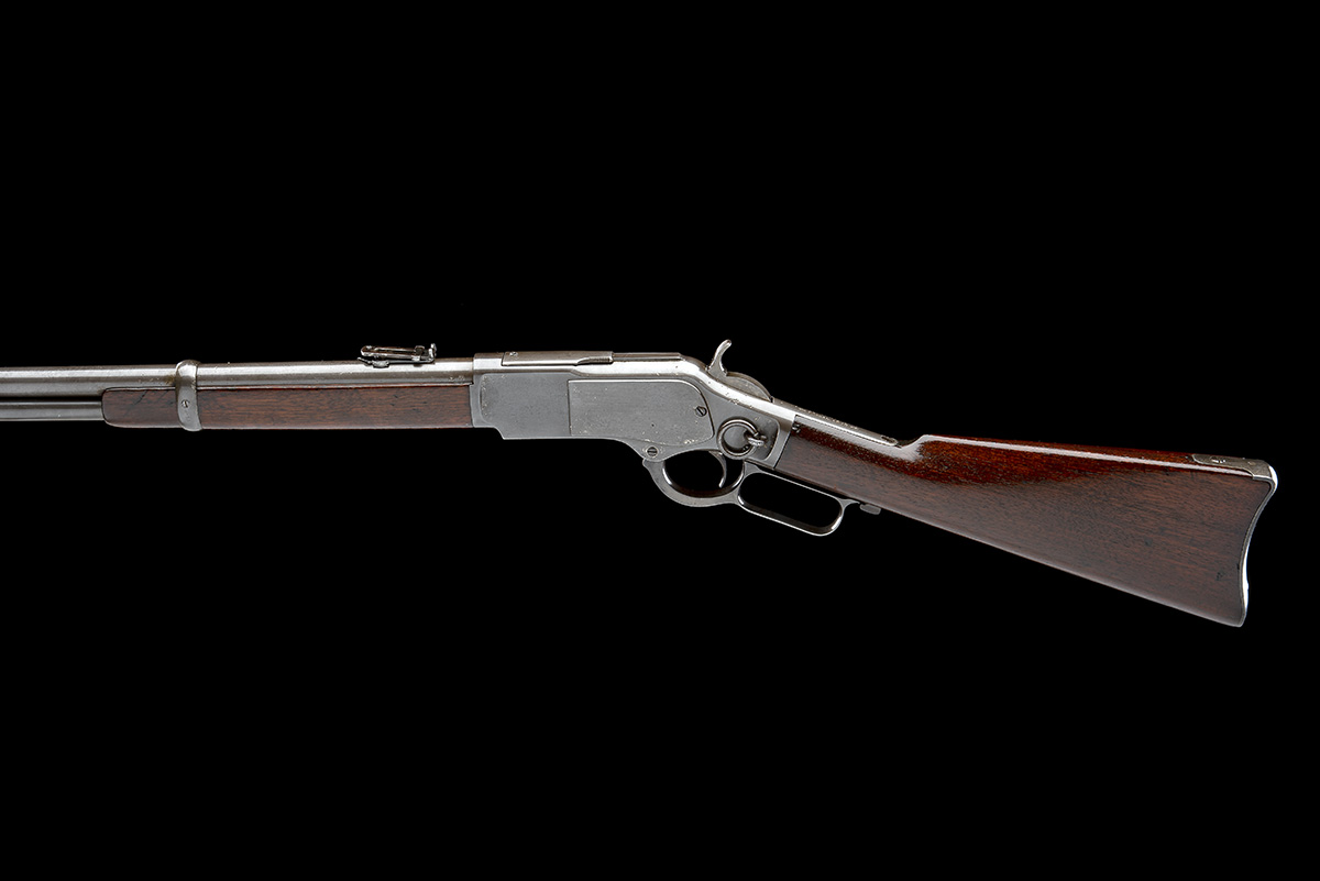 WINCHESTER REPEATING ARMS, USA A .44 W.C.F. 'MODEL 1873' LEVER-ACTION REPEATING SPORTING RIFLE, - Image 2 of 8
