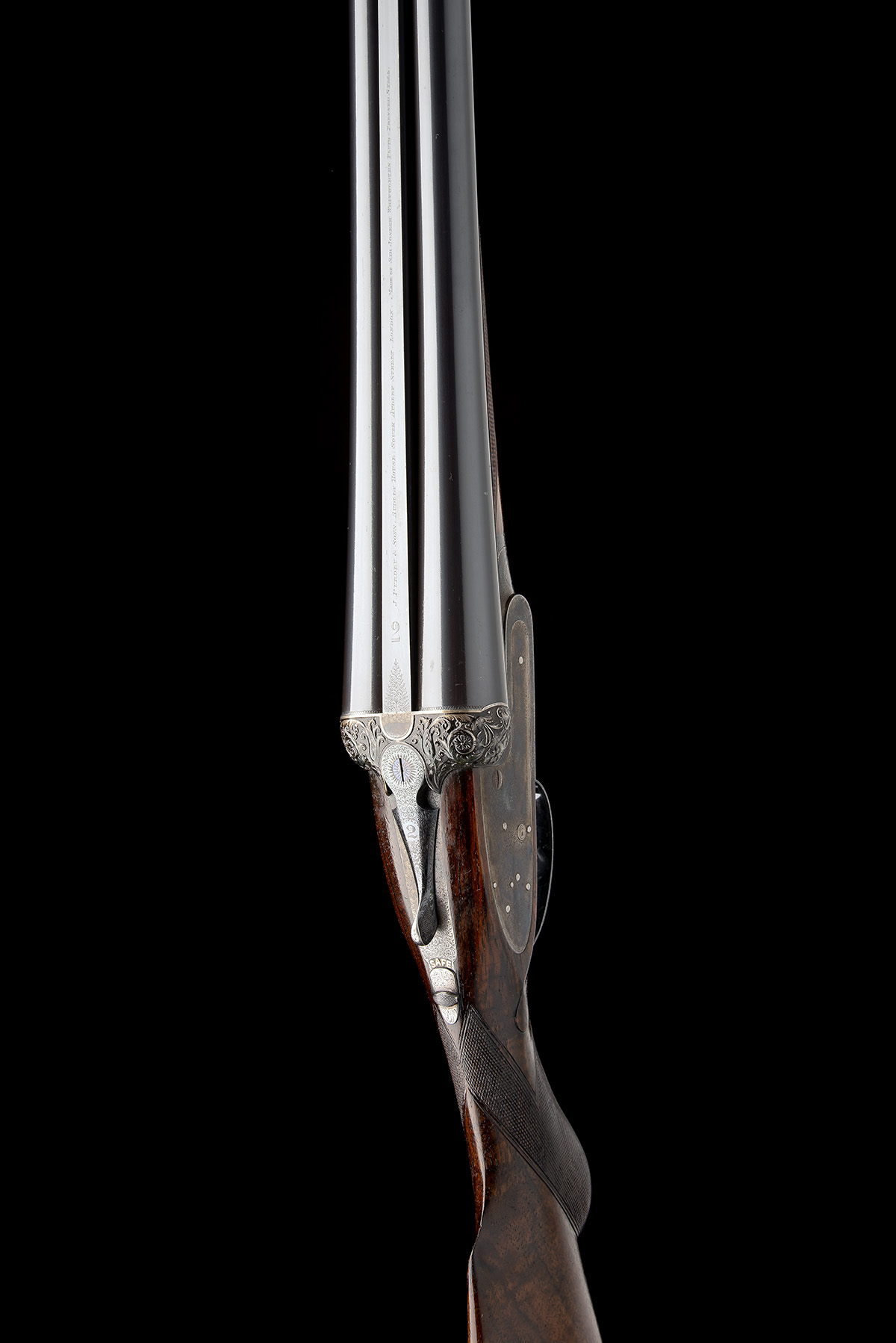 J. PURDEY & SONS A FINE 12-BORE (3IN.) SELF-OPENING SIDELOCK EJECTOR WILDFOWLING GUN, serial no. - Image 6 of 11