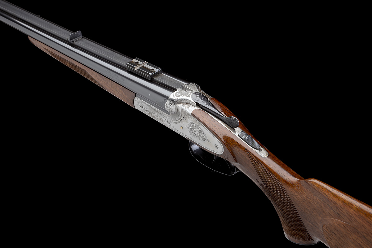 GEBR. MERKEL A 9.3X74R 'MODEL 150' SIDEPLATED BOXLOCK EJECTOR DOUBLE RIFLE, serial no. 570514, for - Image 8 of 8