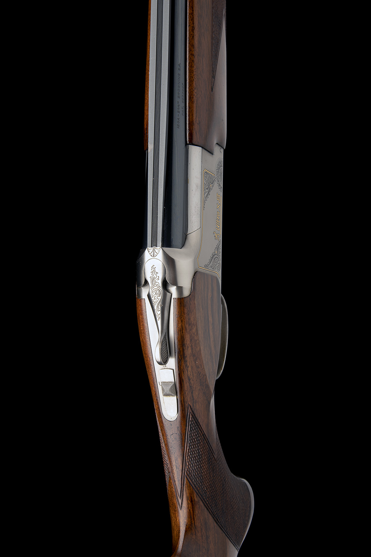 BROWNING S.A. A 12-BORE 'ULTRA XS' SINGLE-TRIGGER OVER AND UNDER EJECTOR, serial no. 45867MX, for - Image 4 of 8
