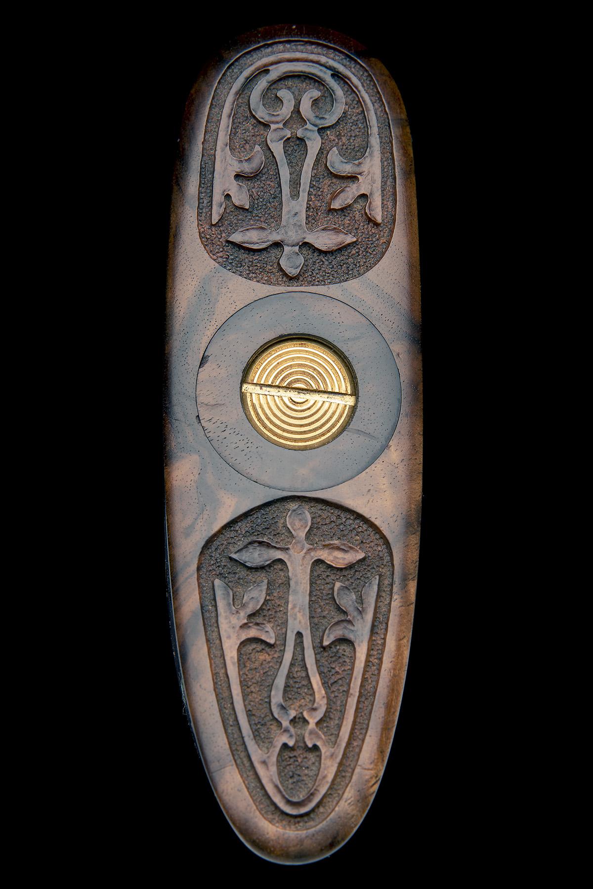 CLAUDE BOUCHET A REMARKABLE PETIOT (MOF)-ENGRAVED .460 WM SINGLE-TRIGGER HAND-DETACHABLE SIDELOCK - Image 17 of 23