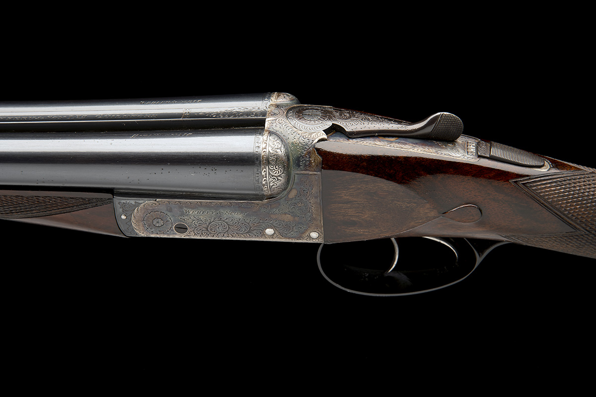 WEBLEY & SCOTT A 20-BORE 'MOD 702' (CENTRAL VISION) BOXLOCK EJECTOR, serial no. 138909, for 1968, - Image 4 of 10