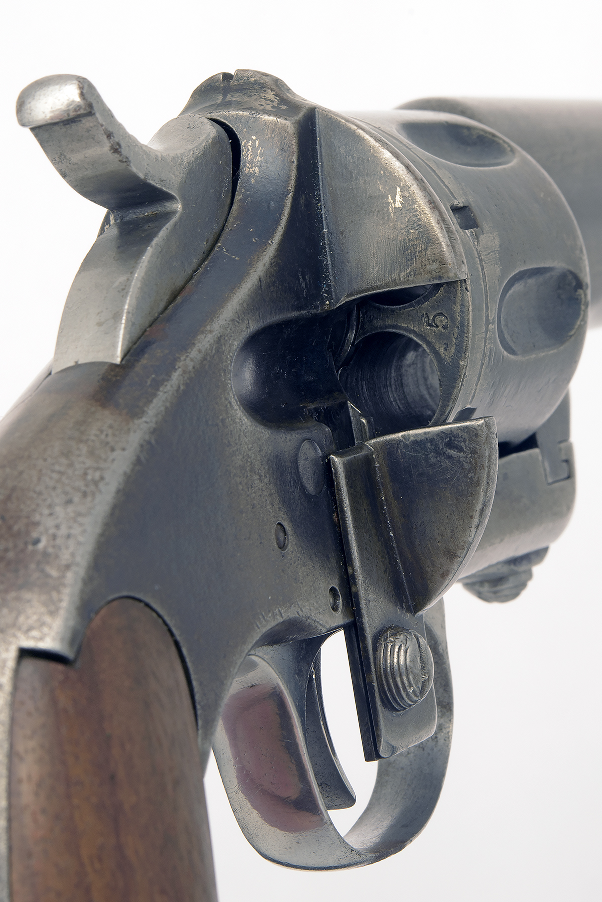 MERWIN HULBERT, USA A SCARCE .44 (M&H) SIX-SHOT SINGLE-ACTION REVOLVER MODEL 'ARMY, FIRST ISSUE', - Image 3 of 3