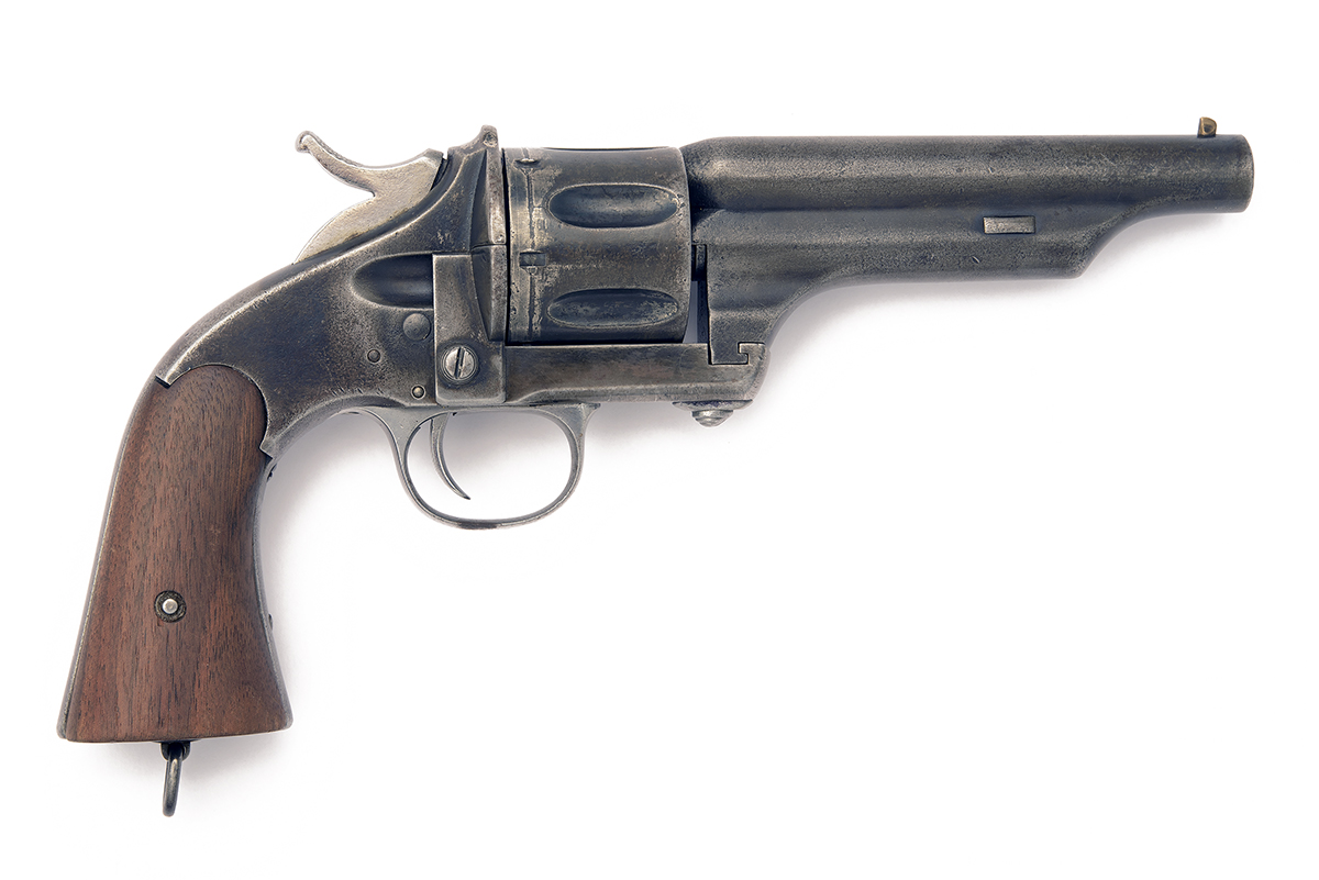 MERWIN HULBERT, USA A SCARCE .44 (M&H) SIX-SHOT SINGLE-ACTION REVOLVER MODEL 'ARMY, FIRST ISSUE',