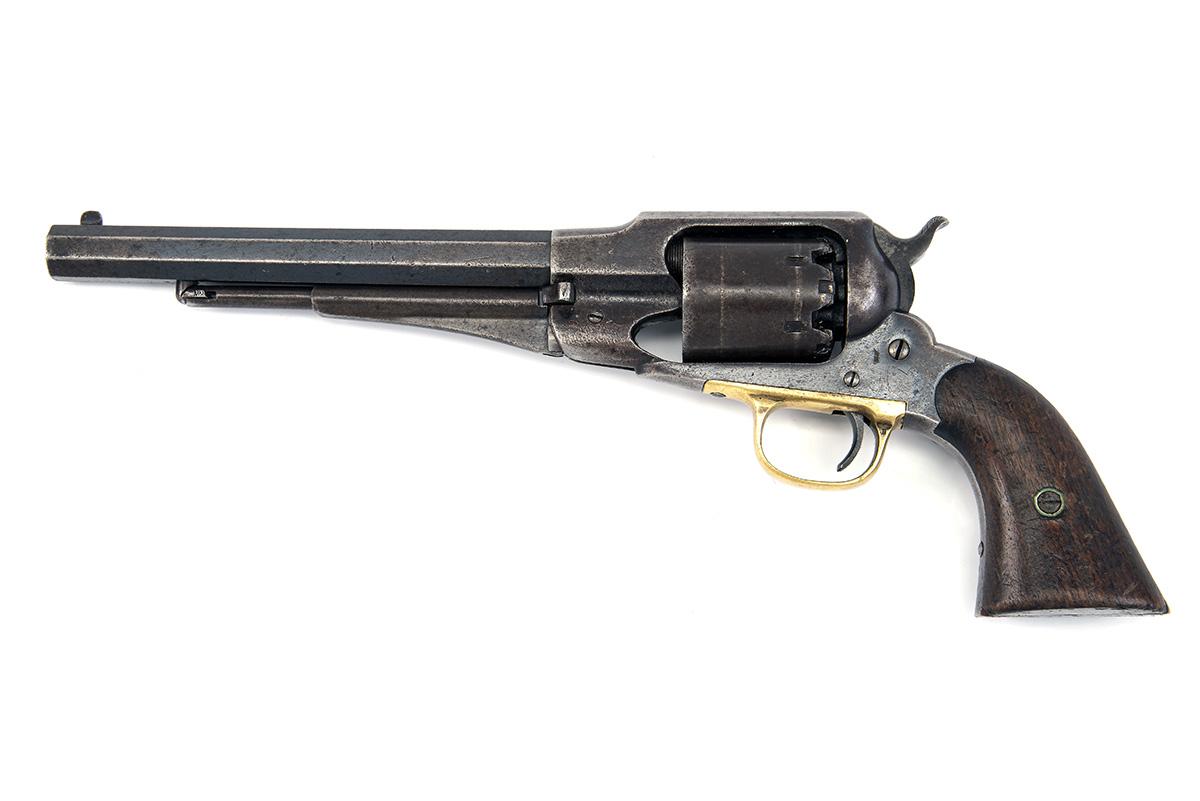 E. REMINGTON & SONS, USA A .44 PERCUSSION REVOLVER, MODEL '1858 NEW MODEL ARMY', serial no. 42618, - Image 2 of 4