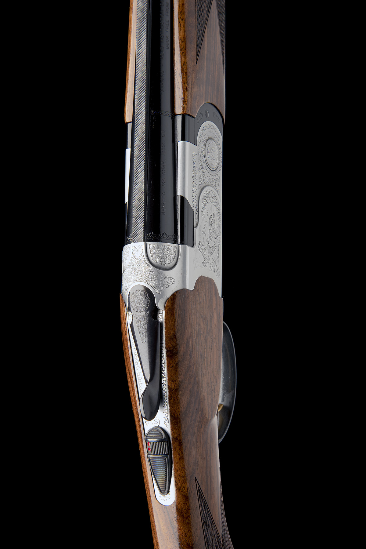P. BERETTA A 20-BORE (3IN.) 'S687 SILVER PIGEON' SINGLE-TRIGGER OVER AND UNDER EJECTOR, serial no. - Image 6 of 8