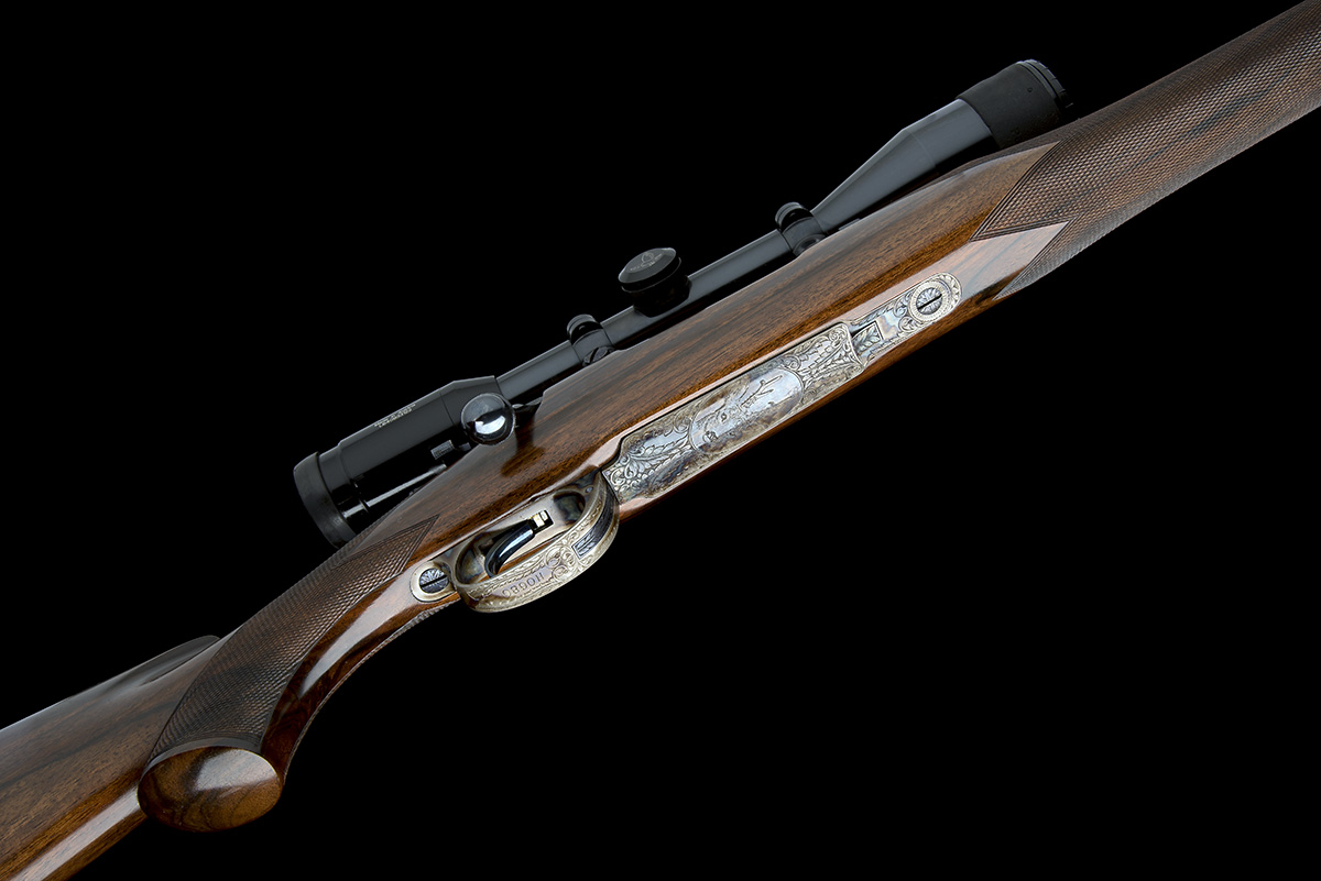 ROY MARTIN A .243 WIN. BOLT-MAGAZINE SPORTING RIFLE, serial no. H0680, circa 1986, 21in. unsighted - Image 3 of 9