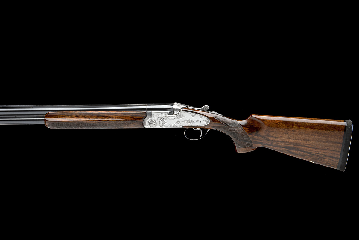 P. BERETTA A 12-BORE 'SO4' SINGLE-TRIGGER OVER AND UNDER SIDELOCK EJECTOR, serial no. C06832B, for - Image 2 of 8