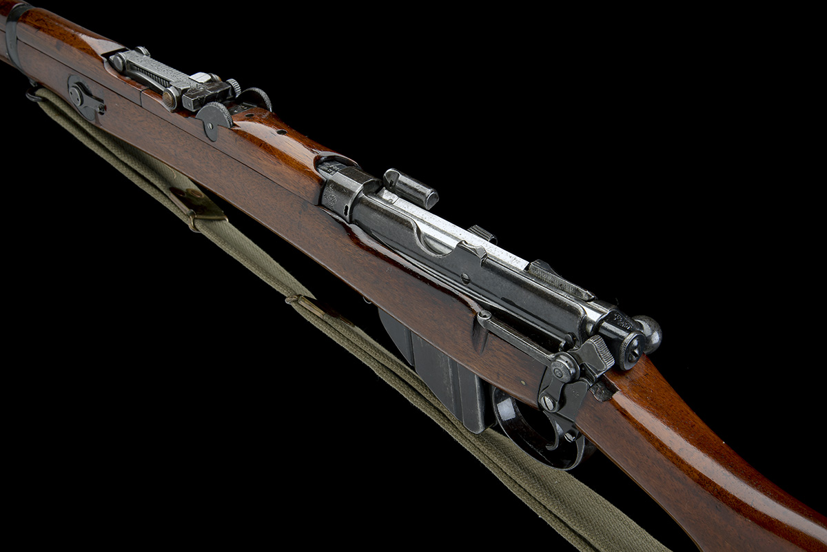 B.S.A. CO. SPARKBROOK A RARE .303 BOLT-ACTION REPEATING SERVICE-RIFLE, MODEL 'SHT L.E. MK 1*', - Image 9 of 11