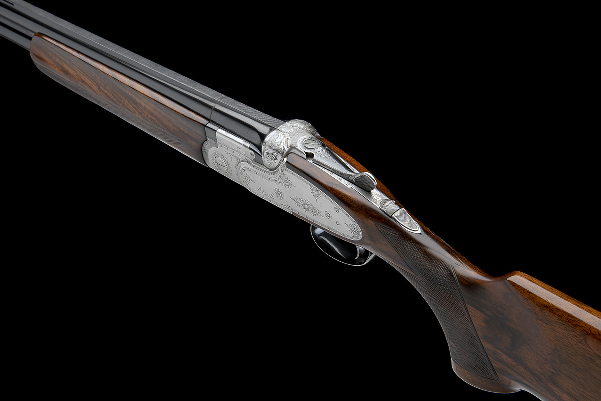 P. BERETTA A 12-BORE 'SO4' SINGLE-TRIGGER OVER AND UNDER SIDELOCK EJECTOR, serial no. C06832B, for - Image 5 of 8