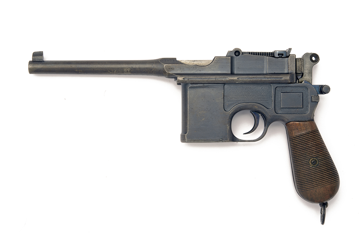 MAUSER, GERMANY A 7.63mm (MAUSER) SEMI-AUTOMATIC PISTOL, MODEL 'C96 'BROOMHANDLE' WARTIME - Image 2 of 2