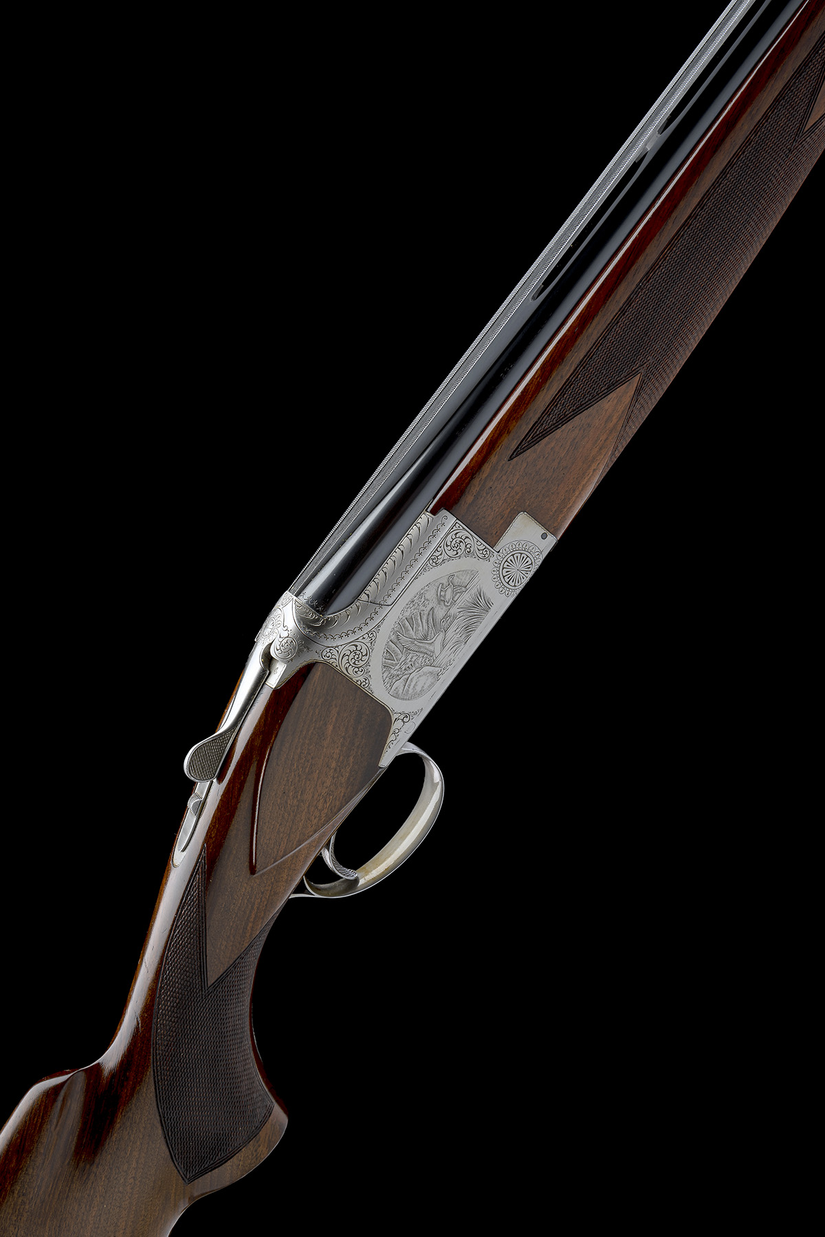 BROWNING ARMS COMPANY A 12-BORE 'B2G' SINGLE-TRIGGER OVER AND UNDER EJECTOR, serial no.