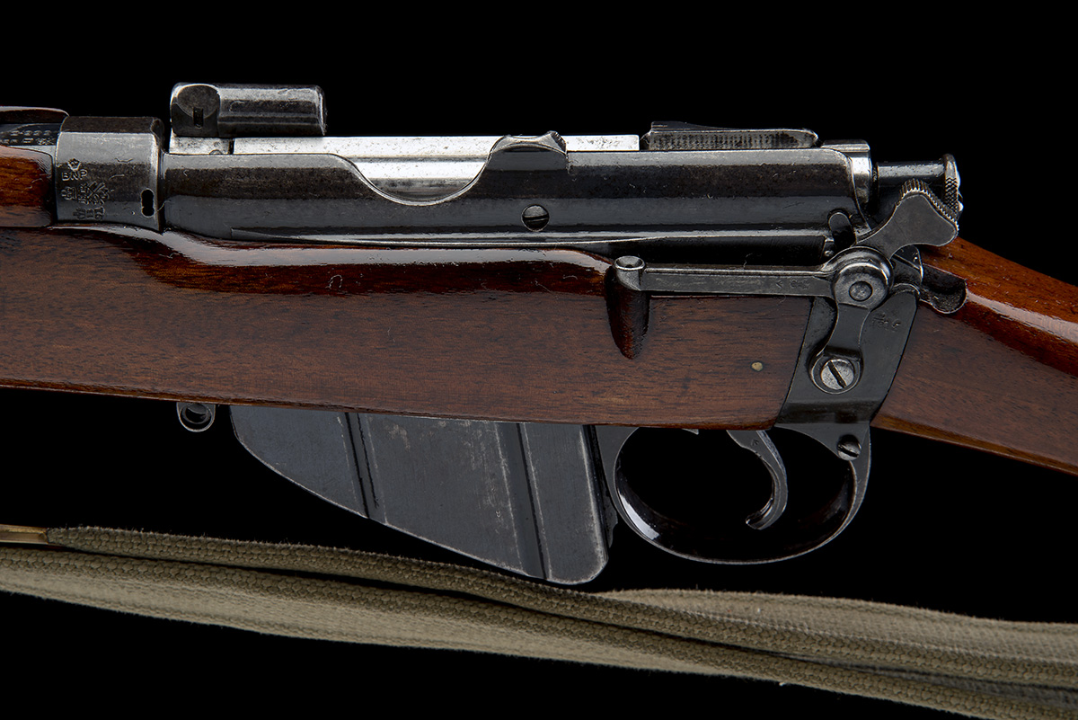 B.S.A. CO. SPARKBROOK A RARE .303 BOLT-ACTION REPEATING SERVICE-RIFLE, MODEL 'SHT L.E. MK 1*', - Image 8 of 11