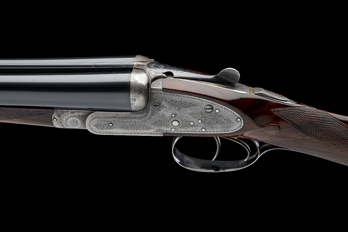 ARMY & NAVY C.S.L. A 12-BORE SIDELOCK EJECTOR, serial no. 57586, circa 1911, 28in. nitro reproved - Image 4 of 8