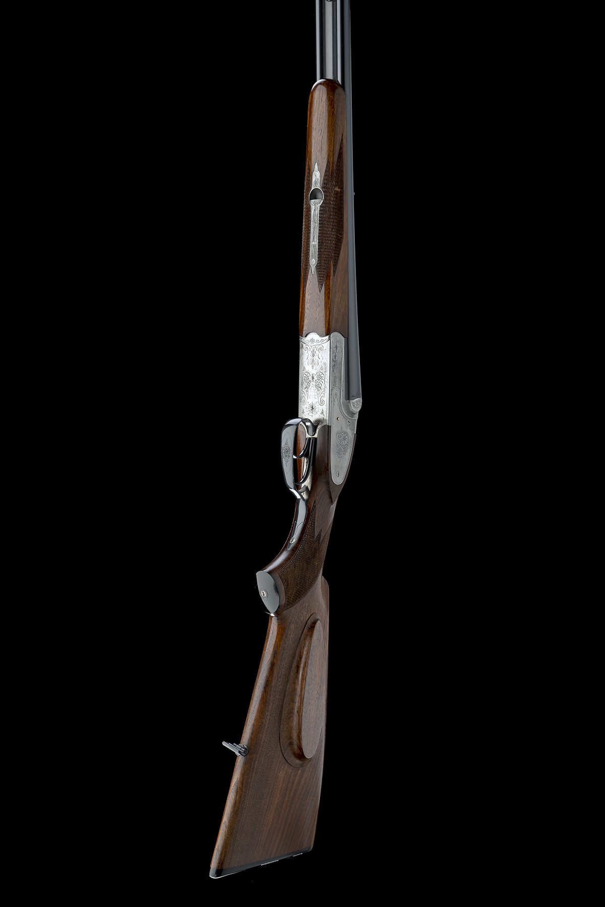 GEBR. MERKEL A 9.3X74R 'MODEL 150' SIDEPLATED BOXLOCK EJECTOR DOUBLE RIFLE, serial no. 570514, for - Image 6 of 8