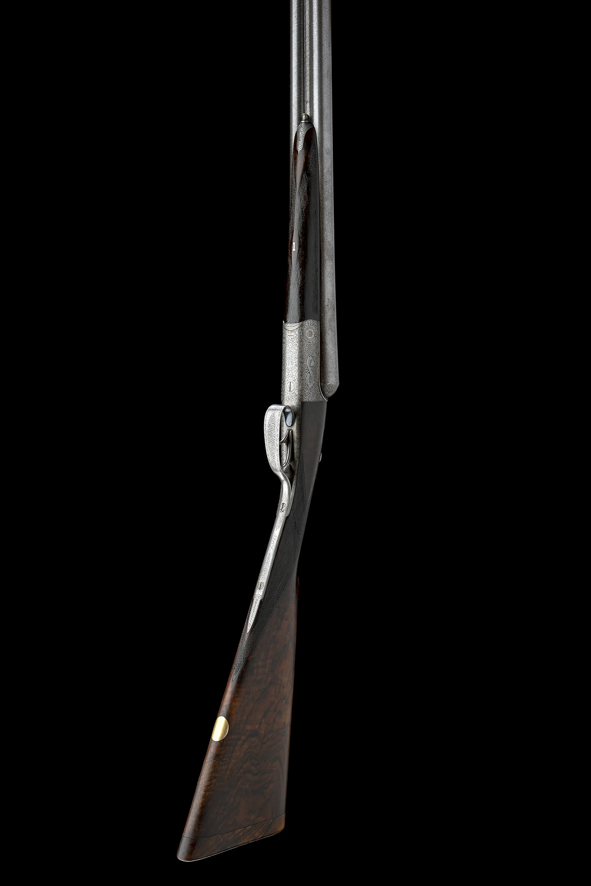 JOHN DICKSON & SON A 12-BORE 1887 PATENT 'ROUND-ACTION' TRIGGERPLATE-ACTION EJECTOR, serial no. - Image 6 of 8