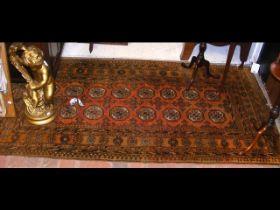 A Middle Eastern rug - 200cm x 100cm