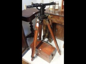 A Director number 5 mk 1 (1915) gun sight on stand - number 3710